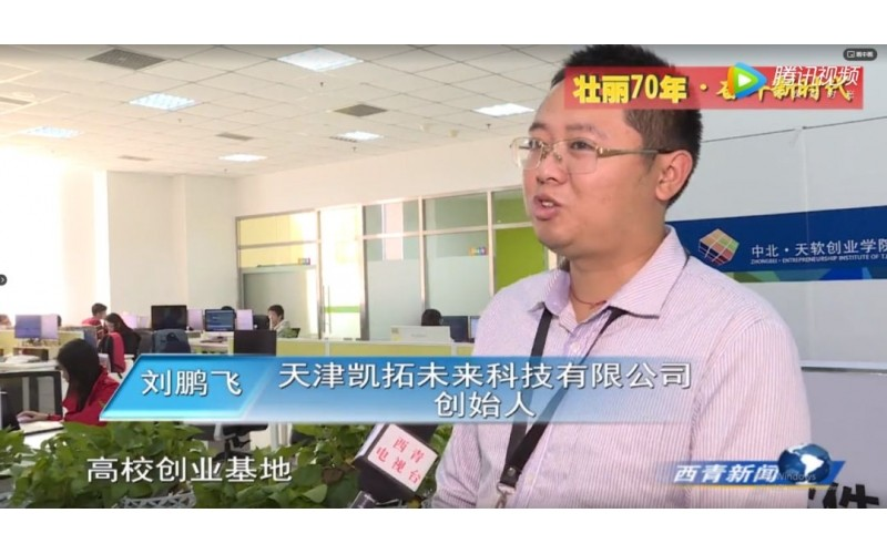 【Xiqing TV】Tianjin website development day soft business incubation period excellent enterprise report